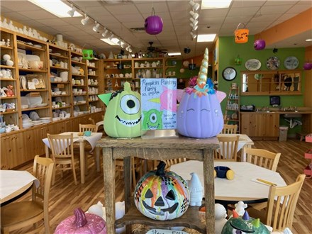Children's Unicorn or Monster Mash Pumpkin Painting Party: Friday, October 8th, 6:00-8:00pm