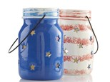 """ Jar Star Lantern"" To-Go Kit-at Color Me Mine - Aspen"