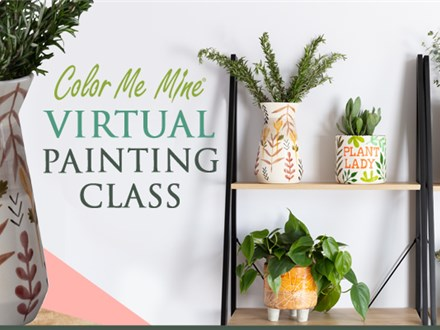 Planter Painting Party    Live Class Demonstration @ Friday, July 31st