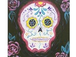 Tween Scene - Sugar Skull Canvas! - Oct. 4