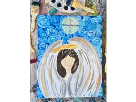 Angel VIRTUAL Paint Class