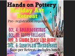 Holiday Art Retreat for Adults - Gnome for the Holidays - Nov 8