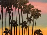 "Canvas Night ""California Dreamin'"" Saturday, August 20th 7-9pm"