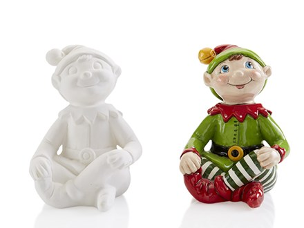 """""""Believe in your-ELF"""" a Christmas Ceramic Painting Event!"""