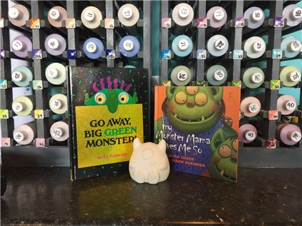 Storytime Art: Monsters! October 18, 19, and 20!