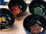 Family Pottery - Hogwarts House Bowls - Morning Session - 09.03.18
