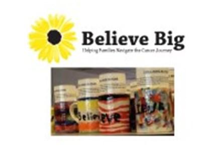 Believe Big Mug Painting