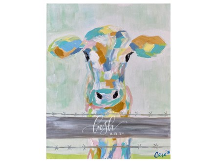Colorful Calf Paint Class - WR