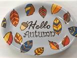 Adult Ceramic Hello Autumn - 09/26