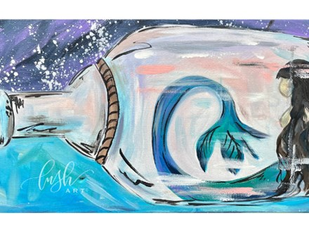 Mermaid Paint Class - Perry