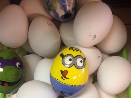 9th ANNUAL Easter Egg Painting Day - April 6th & 7th