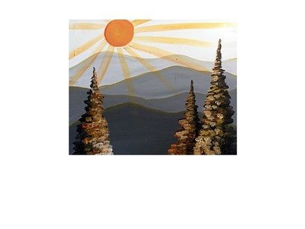 Mountain Sunrise - Paint and Sip