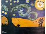 Spooky Starry Night - Fri. Oct. 25th at 7pm