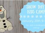 Snow Day - Kids Day Camp