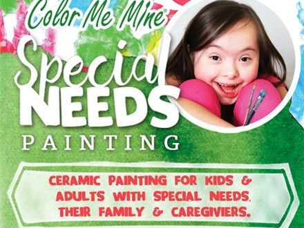 SPECIAL NEEDS PAINTING EVENT - FEBRUARY 21, 2021