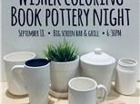 Wishek Coloring Book Pottery Night