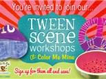 Tween Scene - Peace, Love & Paint! - May 4