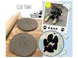 Clay Paw Prints - 10/14