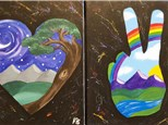 Half Day Session - Summer Camp - Peace, Love, and Pottery - THURSDAY - 06.13.19