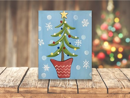 """""""Whimsy Tree"""" Canvas Class ages 8 & up 12/12/19"""