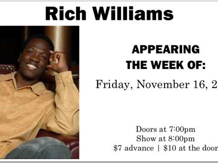 Rich Williams & Ben Jones - November 16