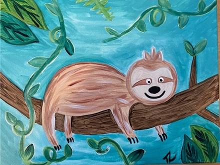 Sloth Canvas 2-18-2021 - 10-11:30am