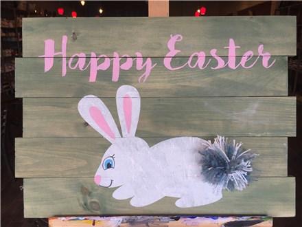 Happy Easter Board Art! Saturday, April 8th 7-10p