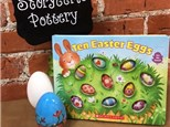 Easter Egg Story Time Pottery- April 2019