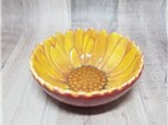 Sunflower Sauce Bowl - Ready to Paint