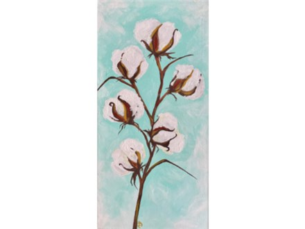 Cotton Stem Paint Class - WR