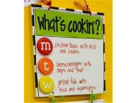 August 26th Adult Pottery Workshop - Menu / Grocery Plaque
