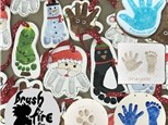 Handprints in Clay - Keepsake Plaques & Ornaments