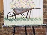 May 8th Wheel Barrow Canvas Class