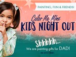 Gifts for Dad Kids Night Out- May 31st