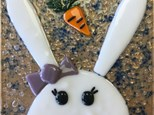 Fused Glass - Bunny Dish - 04.14.19