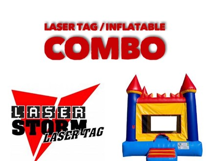 Combo (Inflatables and Laser Tag)