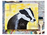 Harry Potter Inspired Badger Paint Class - WR