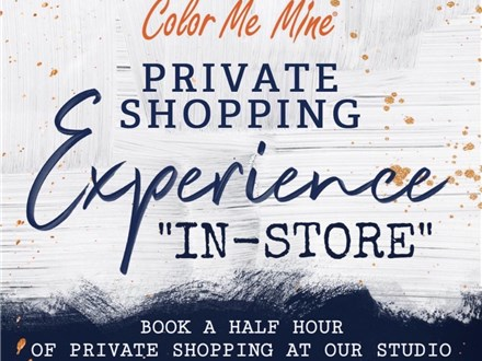 """IN-STORE"" Private Shopping Experience"