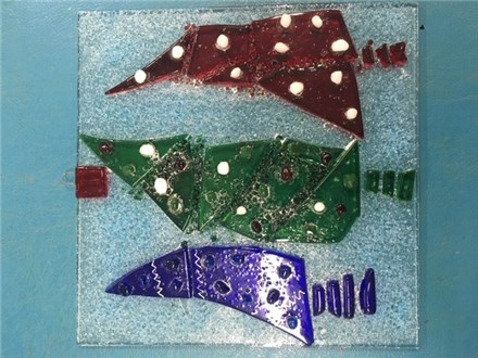 Tree Fused Glass - December 5th
