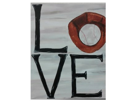 LOVE Baseball - Paint & Sip - May 3