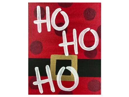 Ho Ho Ho Kids Canvas - 12/22