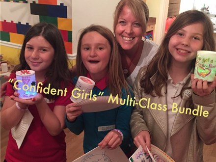 """Confident Girls""Multi-Class Bundle (3rd-5th)- LITHIA-Starts Feb 22, 2018"