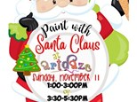 ARTDAZE PAINT WITH SANTA CLAUS!