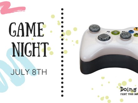 Game Night Summer Camp