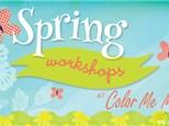 Spring Break Workshops - April 1-5 & 8-12, 2019 (Redondo Beach)