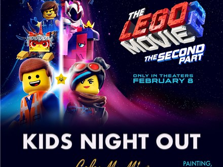 Kids Day Out - Lego Movie 2 (More Lego Fun)! - Feb. 18