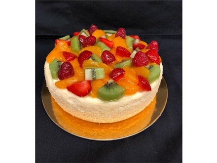 Fresh Fruit Cheesecake
