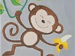 """Canvas & Cones """"Monkey Fun"""""""
