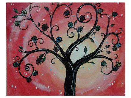 Tree of Whimsy - Paint & Sip - June 2