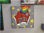 Cool Kick's Kids Canvas Painting
